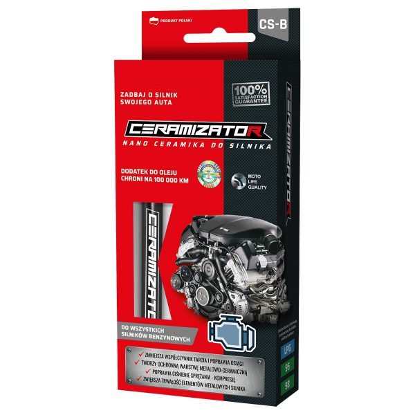 Ceramizator CS-B do silników benzynowych