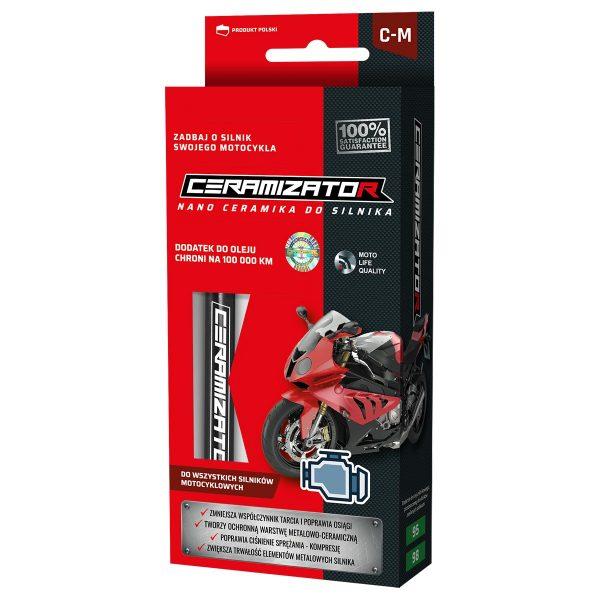 CERAMIZATOR C-M Nano ochrona do motocykla